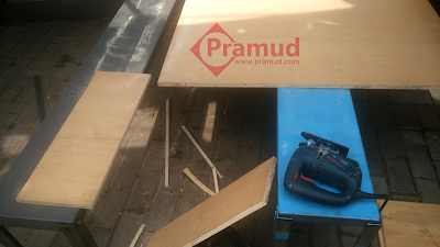 cara memotong papan kayu buat box speaker subwoofer