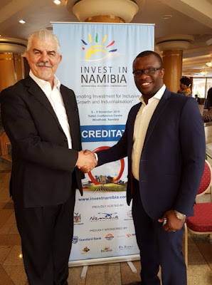 Hennie Botes - Invest in Namibia