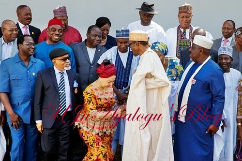 President Buhari Inaugurates Committee on Minimum Wage...Here's His Full Speech, Photos from the Event