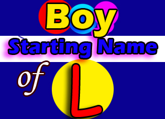 Modern Baby Boy Names Starting With L - www SatnaamSar com