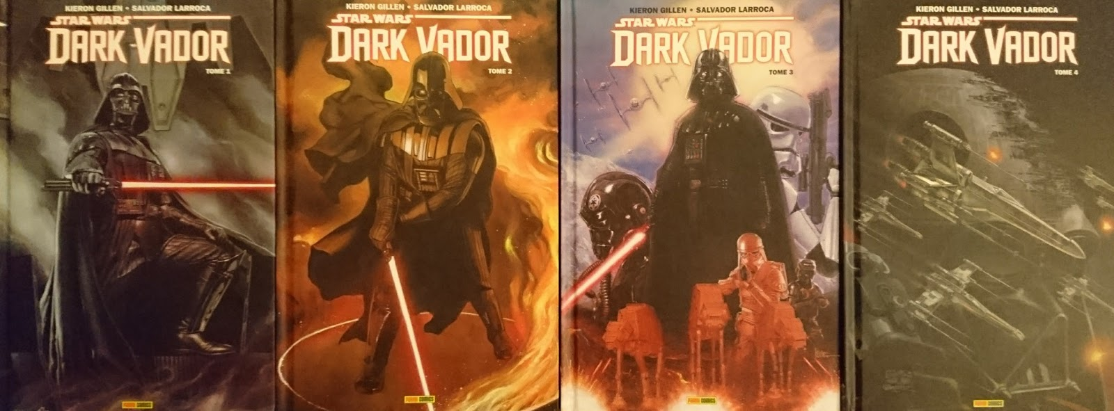 Star Wars Dark Vador comics Marvel