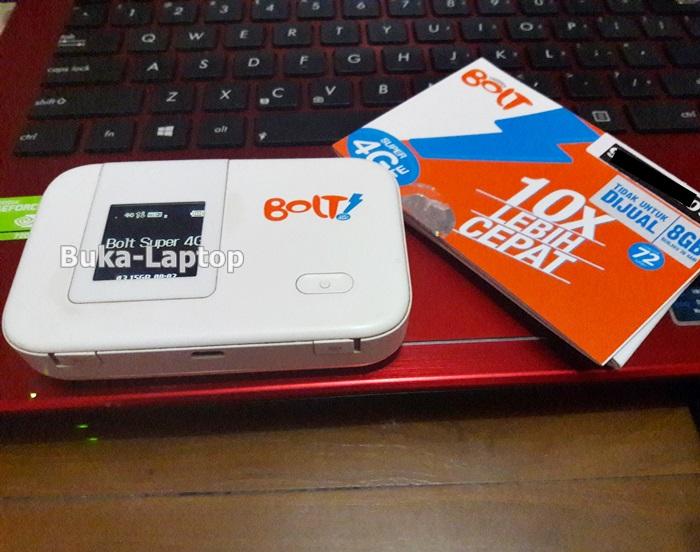 Pengalaman Menggunakan Bolt 4G LTE Max Mobile WiFi