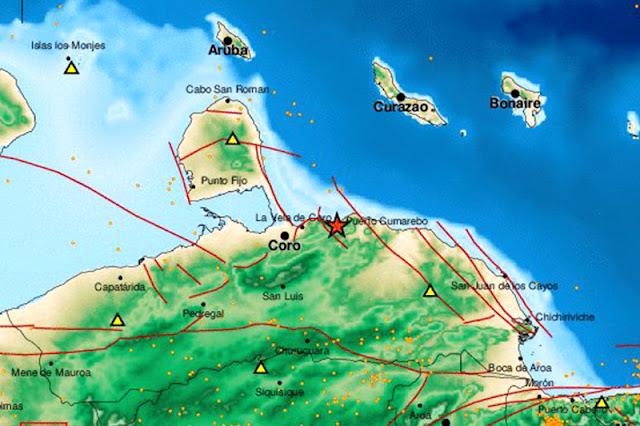 Se sintió muy fuerte el sismo en Puerto Cumarebo - Falcón