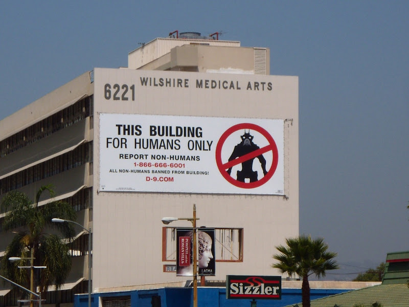 District 9 viral movie billboard