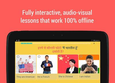 تحميل تطبيق Hello English تعليم اللغة الانجليزية مجانى 100%