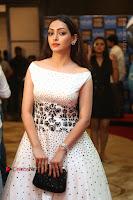Actress Pooja Salvi Stills in White Dress at SIIMA Short Film Awards 2017 .COM 0090.JPG