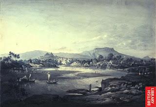 संगमावरून दिसणारे पुणे - १८०४