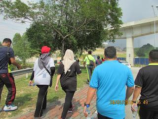 Program Gaya Hidup Sihat : Hiking @ Bukit Cermin, Putra Height Selangor