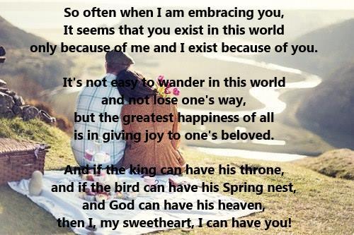 Sweetheart Poems 1