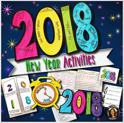 2018 New Year Creative Growth Mindset Activities www.traceeorman.com