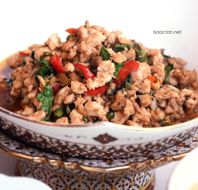 Thai Basil Minced Chicken