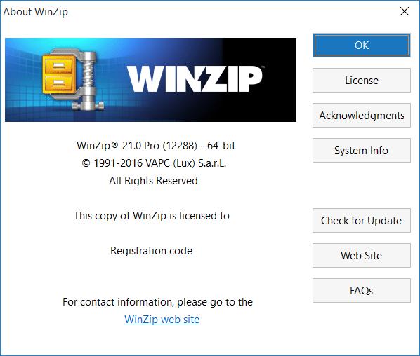 WinZip Pro 21 en Español