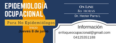 Epidemiología Ocupacional, Curso