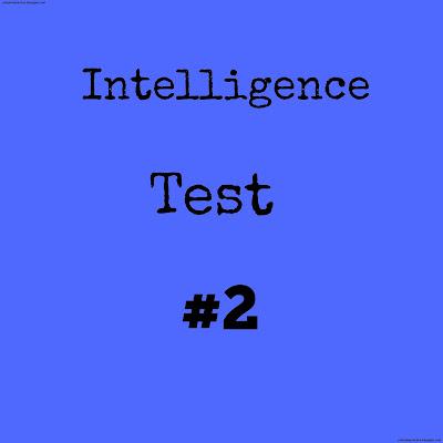 Intelligence Test No 2