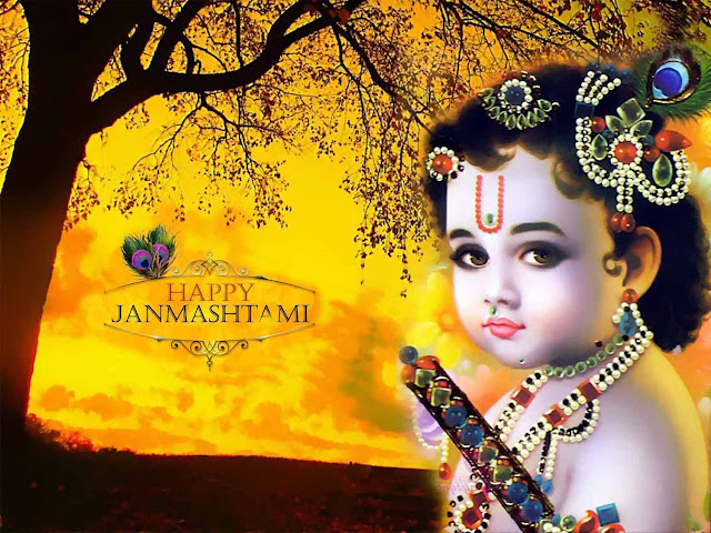 May Lord Krishna come to your house And take away all your Makhan, Mishri wid all your worries and sorrows, His blessings on you and your family. Happy Krishna Janmashtami