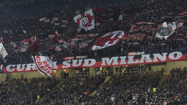 Sosok Mengerikan Gentayangan di Laga AC Milan vs Juventus