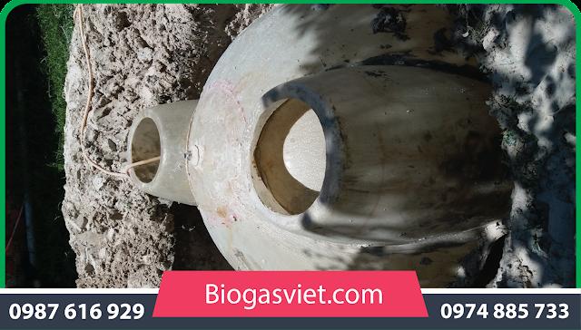hầm biogas bằng nhựa tái chế