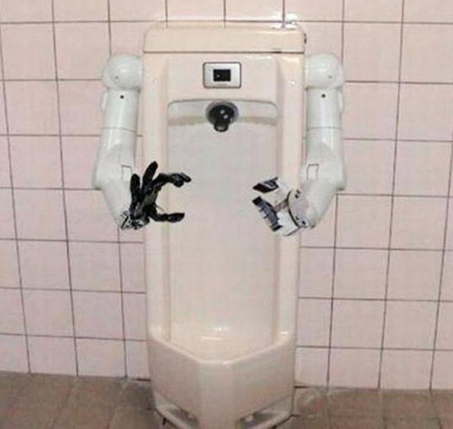 Toilet buồn cười