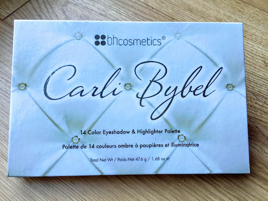 Carli Bybel - BH Cosmetics - Eyeshadow and highlighter palette