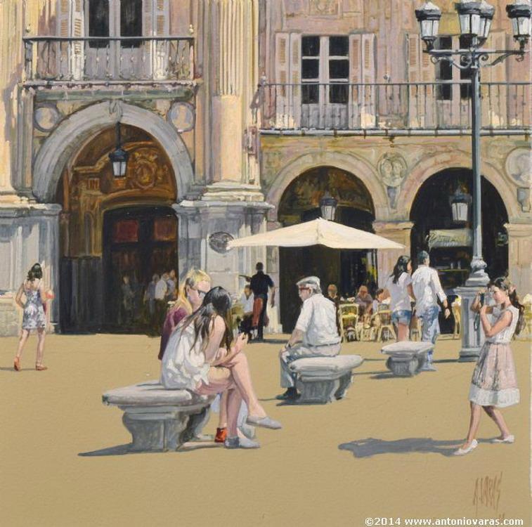 Cuadros modernos paisajes urbanos y tur sticos pinturas - Busco trabajo de pintor en madrid ...