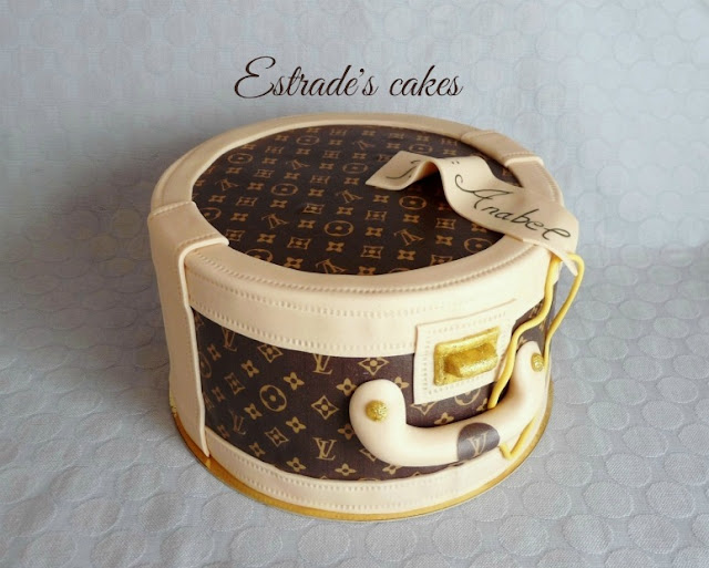 Tarta neceser de Louis Vuitton 1