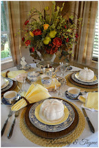 Transitional Fall Tablescape