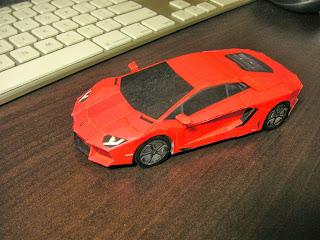 Yoshiny S Design Lamborghini Aventador Lp700 4 Papercraft