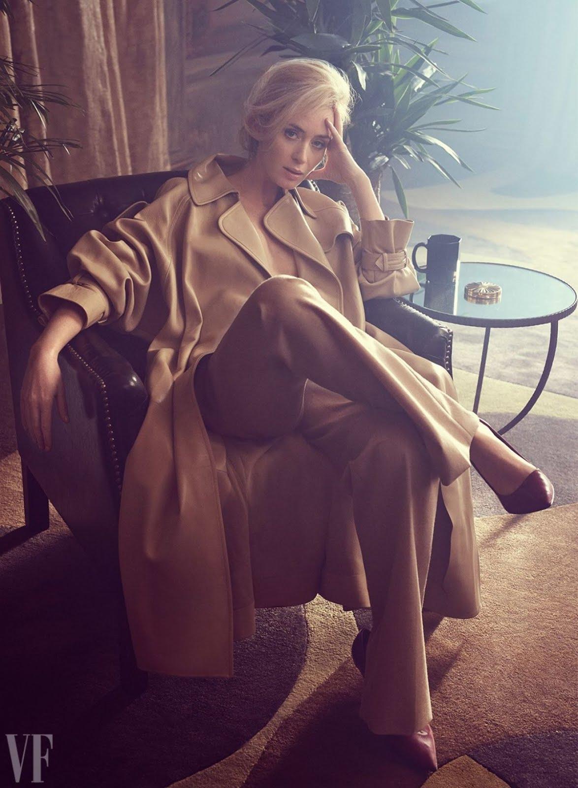 HQ Photo Shoot of Emily Blunt for Vanity Fair Magazine February 2018