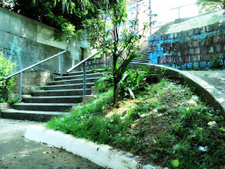 Escadaria da Rua Tito Lívio Zambecari até a Avenida Maryland, Porto Alegre