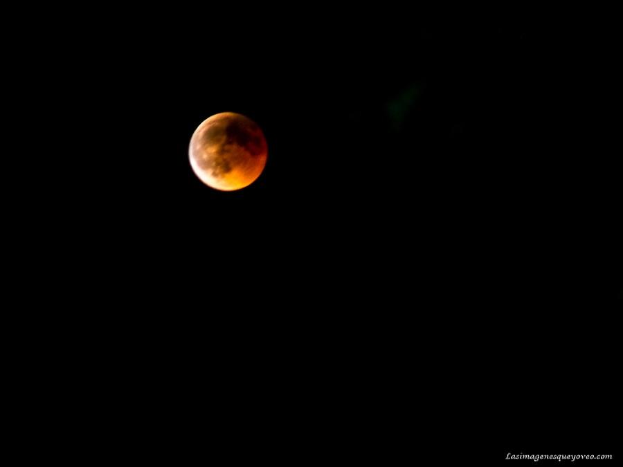 Eclipse luna de sangre del 27 de Julio de 2018