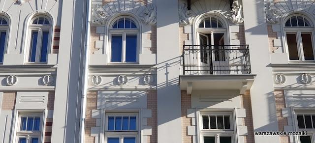 Warszawa Warsaw Praga Północ praskie klimaty kamienica Pod Sowami architektura architecture praskie ulice