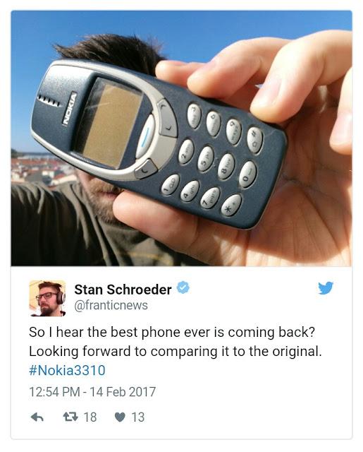 The Legendary Nokia 3310