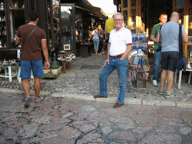 Başçarşı'da, Bakırcılar çarşısı, Saraybosna