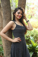 Aswini in lovely Deep Neck Sleeveless Black Dress Spicy Pics ~  Exclusive 22.JPG