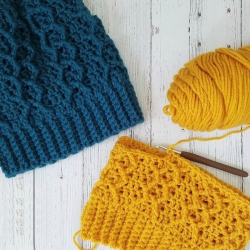 Honeycomb Cabled Beanie - Free Pattern