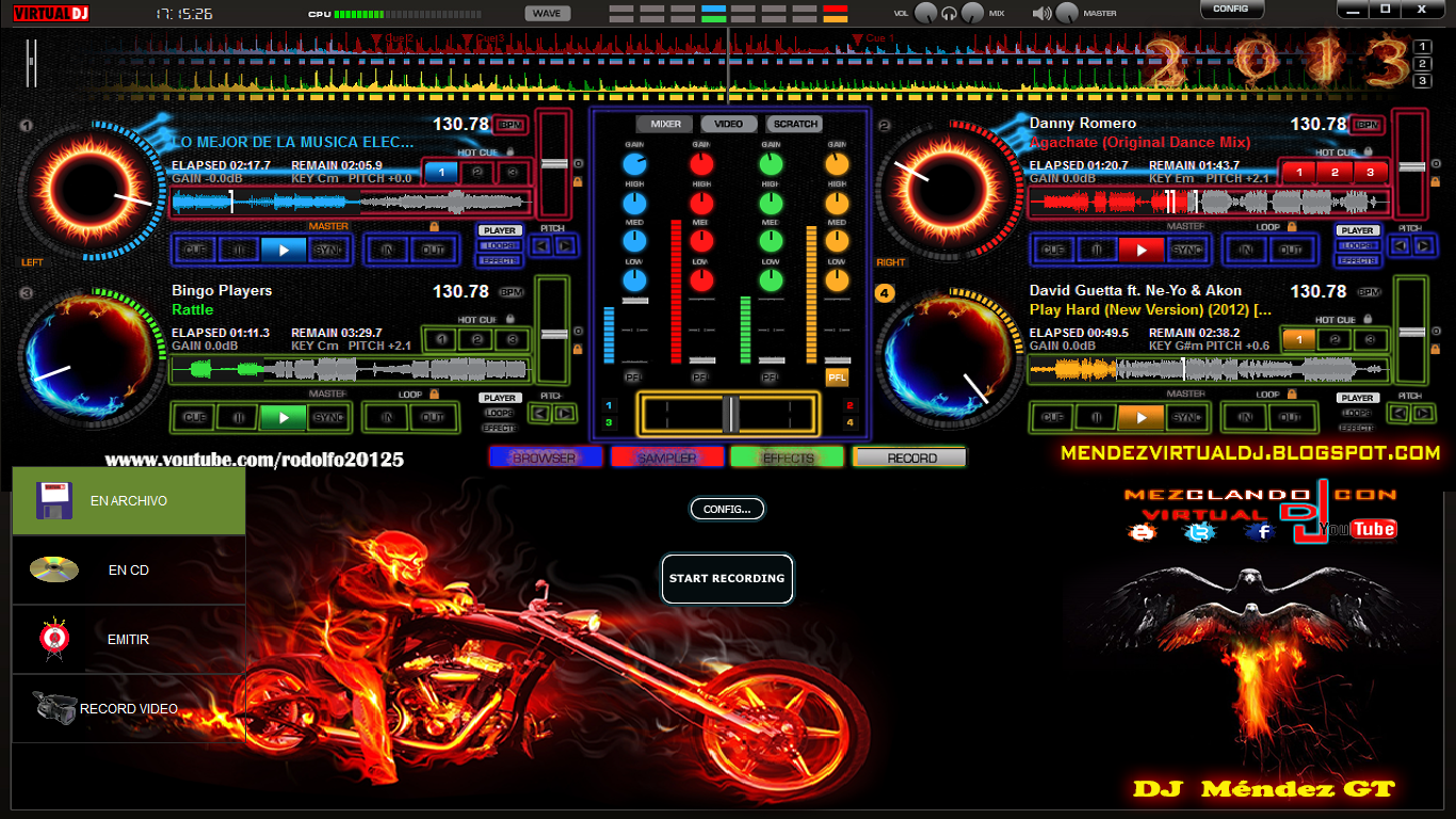 ... Virtual Dj 2013 4 Platos By Dj Méndez Gt/ Download Skin Virtual dj