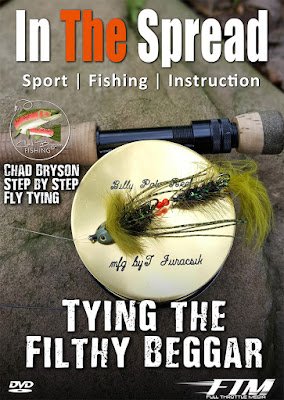 in the spread chad bryson fly fishing tying trout