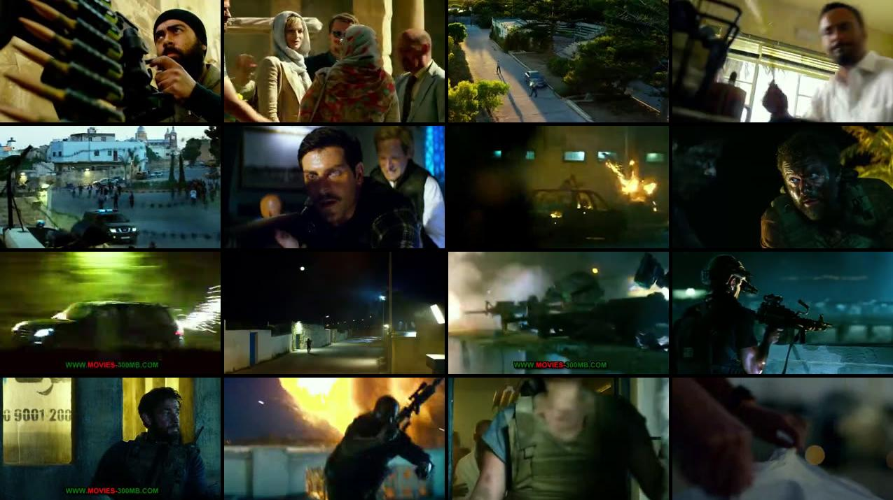 13 Hours 2016 190MB HEVC BluRay Screenshot