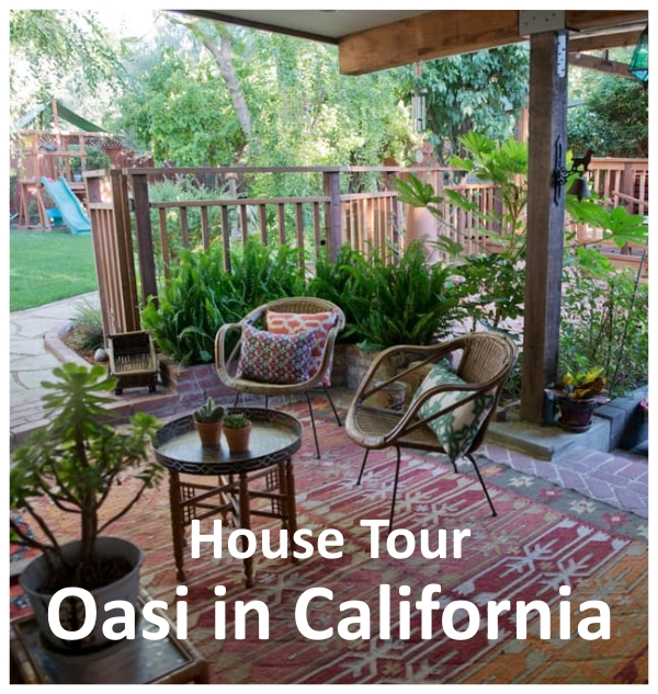 house tour una meravigliosa oasi in california home staging italia. Black Bedroom Furniture Sets. Home Design Ideas