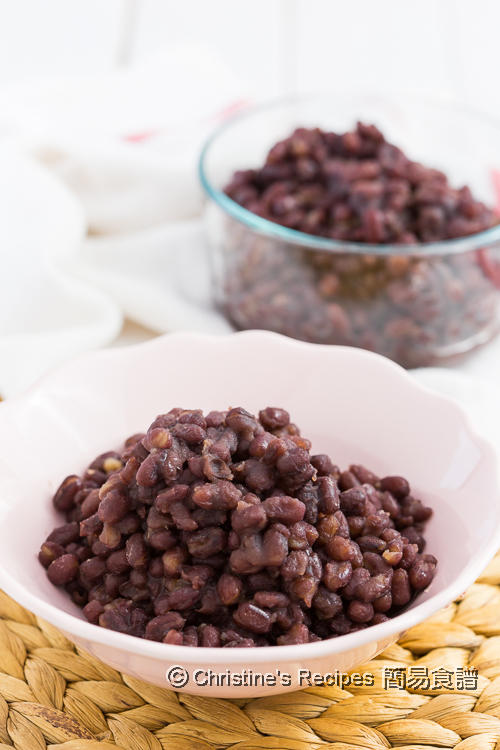 Sweetened Red Bean Instant Pot01