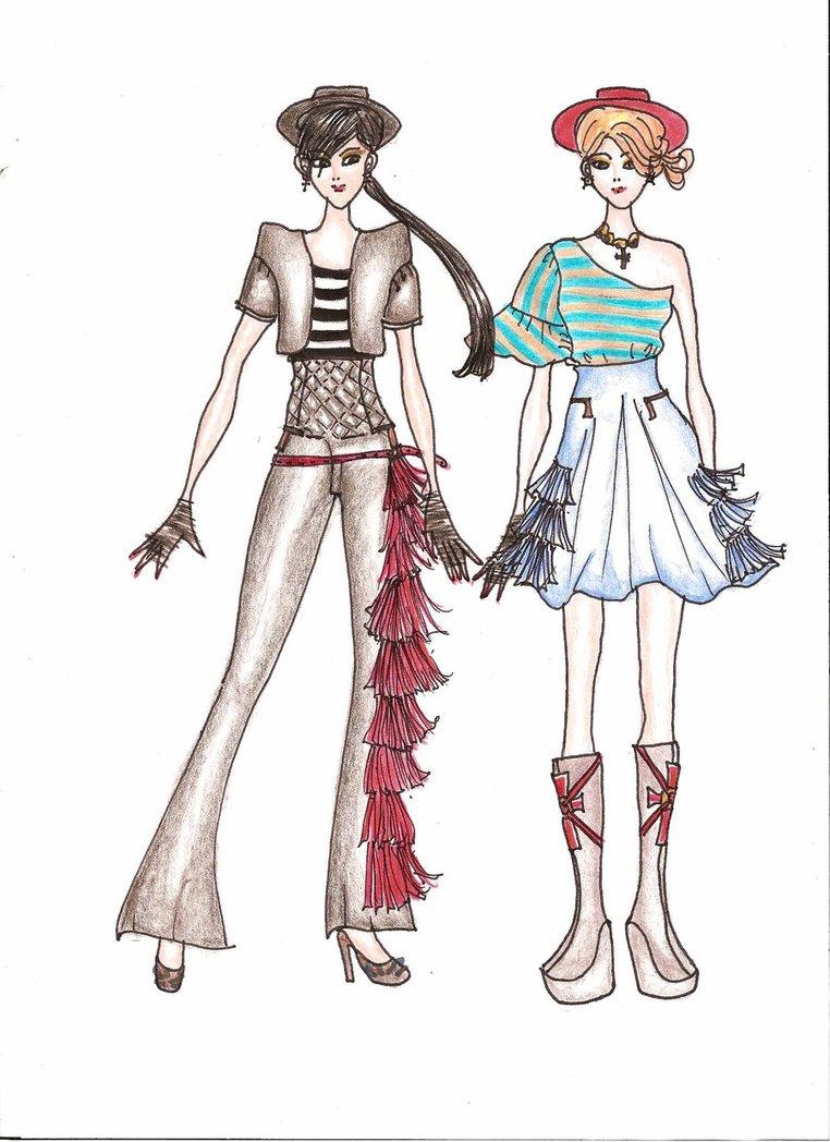 Fashion Design: Fashion Croqui Model