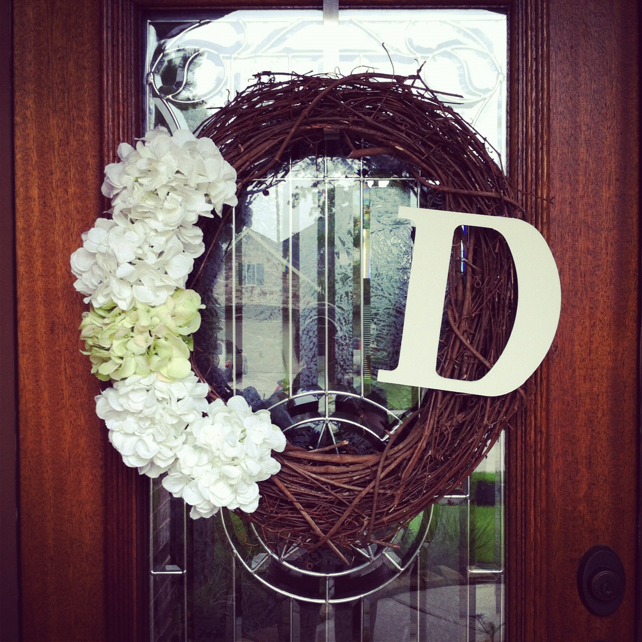 Diy Monogram Fall Wreath: Down With The Dearmore's: {DIY Monogram Wreath}