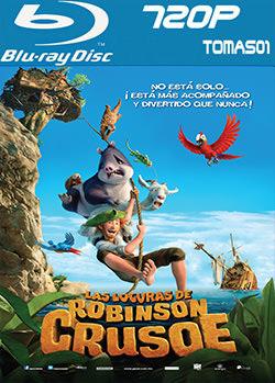 Las locuras de Robinson Crusoe (2016) BRRip 720p