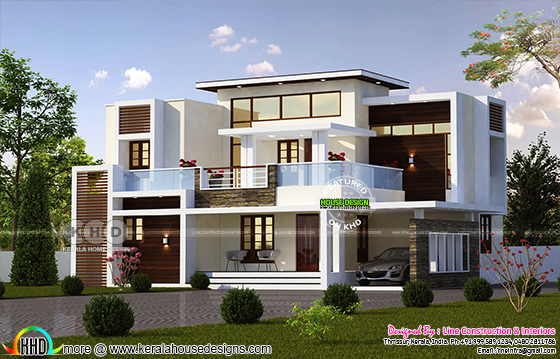 2206 square feet contemporary 4 bedroom home