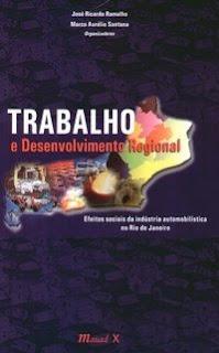 livro Trabalho e Desenvolvimento Regional