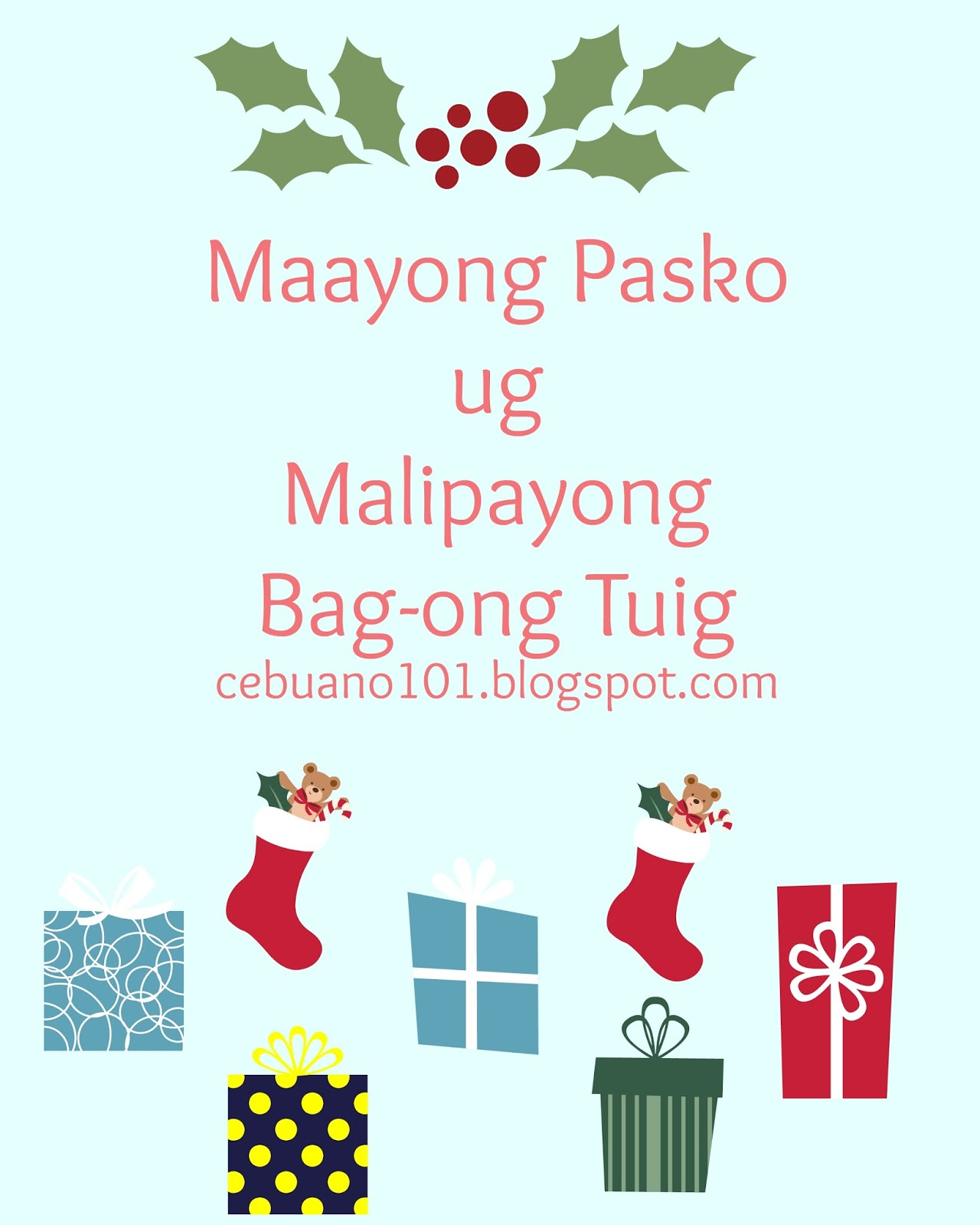 Cebuano101 merry christmas and happy new year in bisaya heres how to greet merry christmas and happy new year in bisaya m4hsunfo