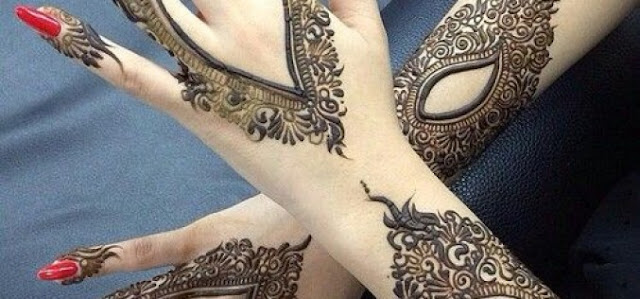 Pakistani Mehndi Designs For Full Back Hands Palm Photo