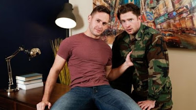 Brenner Bolton & Markie More – An Officer & a Cum-Slut