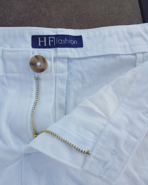 Chi-Town Chinos in White // Sewing For Women