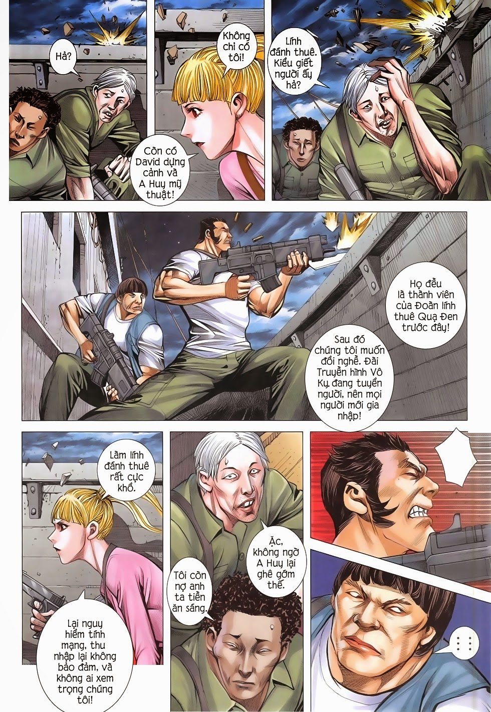 Đại Quân Phiệt chap 48: đại loạn chiến trang 8